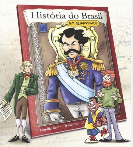 """Livro """"História do Brasil em Quadrinhos"""""""