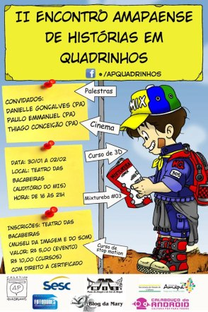 II Encontro Amapaense de Hisórias em Quadrinhos