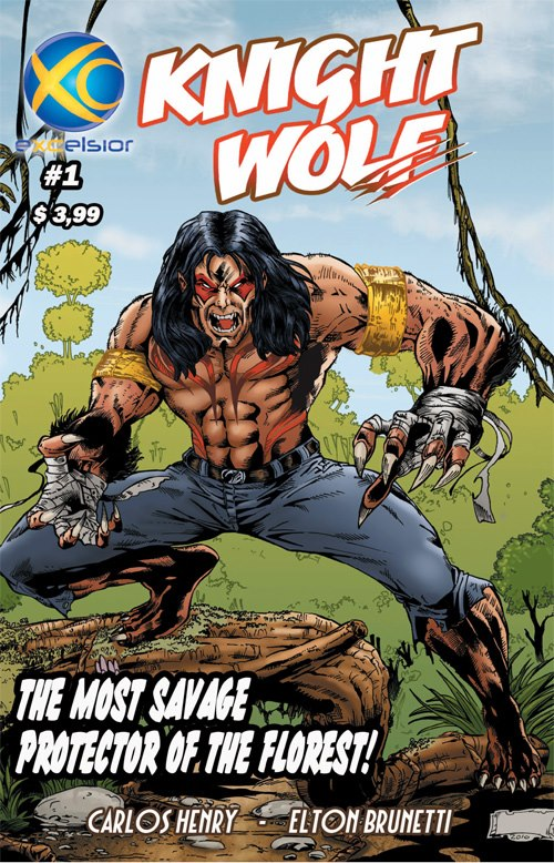 Knight Wolf # 01