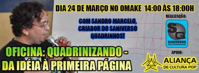 Palestra com Sandro Marcelo