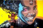 Grafitagem de Lya Alves