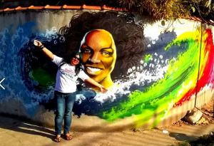 Lya Alves Graffitando