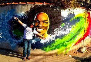 Lya Alves Graffitando