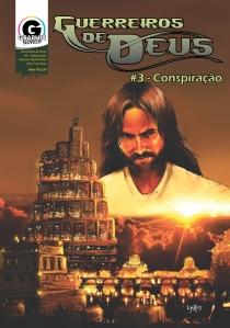 Capa - Guerreiros de Deus  #3