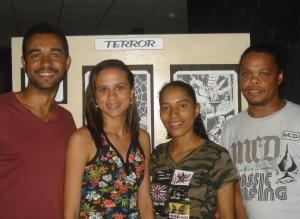 Marcos Franco, Stephanie Barbosa, Zilda Marcelina e George Silva