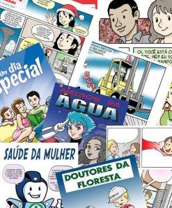 Histórias em quadrinhos na comunicação interna