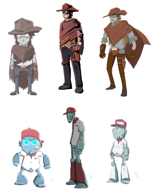 MAKI - Personagens