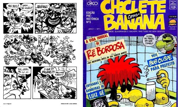 Caixa Cultural em Recife, expõe quadrinhos históricos.