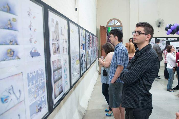 Mostra reune trabalhos de 64 países - foto Dirso Barelli