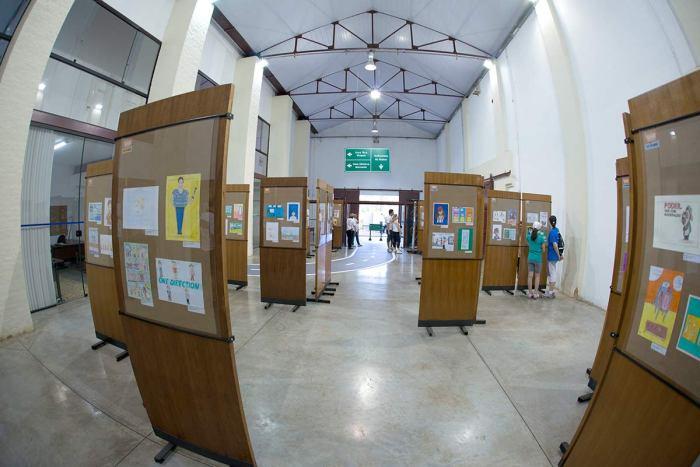 Salãozinho de humor traz obras de estudantes - Foto Dirso Barelli