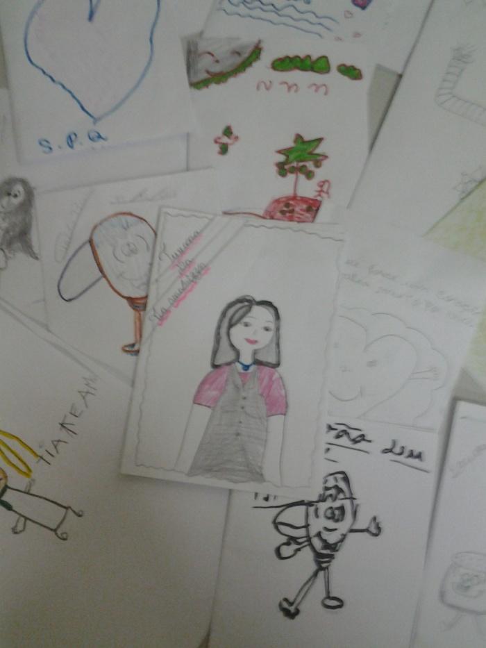 Fanzines criados pelas crianças
