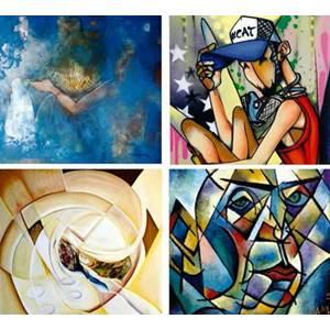 exposição Arte Solidária