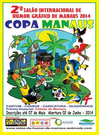 Aberta as inscrições para 2⁰ Salão Internacional de Humor Gráfico de Manaus – 2014