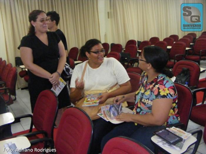 Suellen Sotero, Carol Valeriano e Michelle Ramos