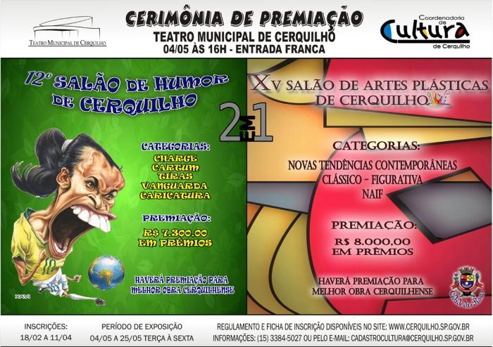 CARTAZ SALÃO HUMOR E ARTES 2