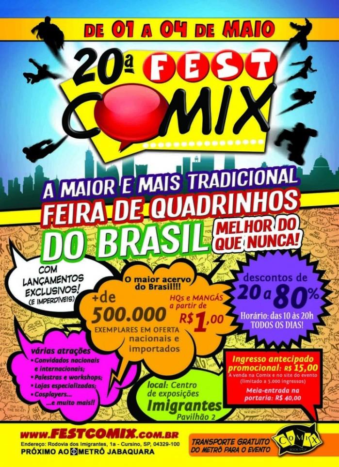 20ª edição da FEST COMIX