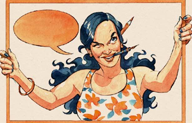 lady comics