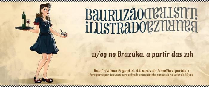Evento- Bauruzão ilustrado