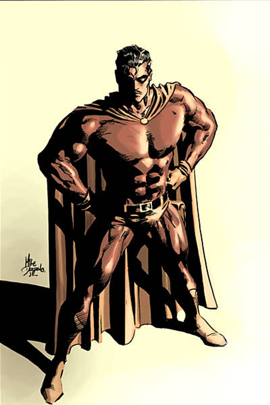Flama, por Mike Deodato Jr.