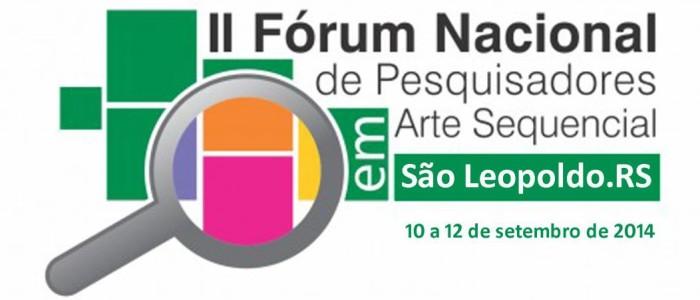 II Fórum Nacional de Pesquisadores em Arte Sequencial