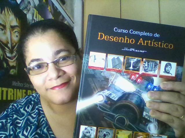 Curso Completo de Desenho Artístico, de Silvio Ribeiro.