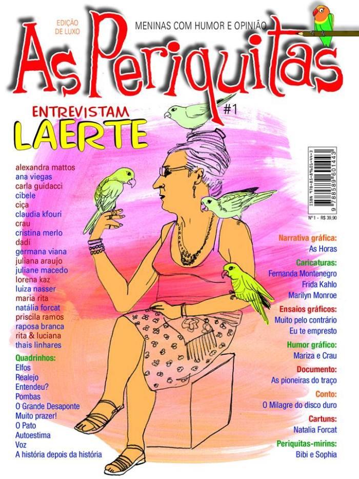 As Piriquitas, Revista reune autoras nos mais variados segmentos de arte no papel