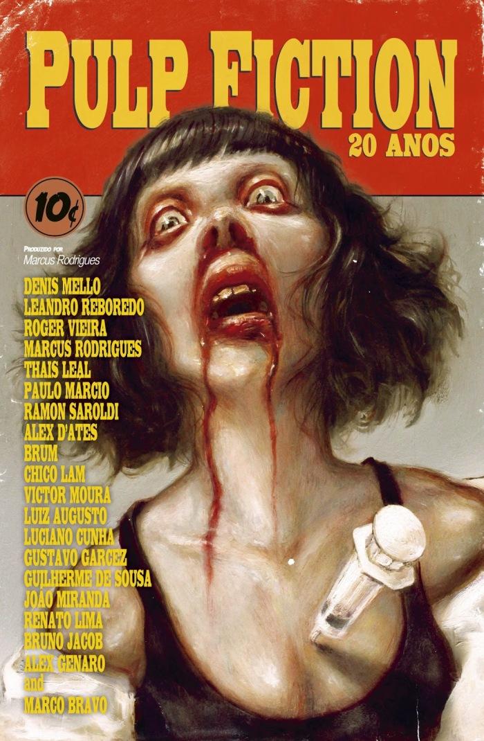 Capa - Pulp Fiction 20 Anos