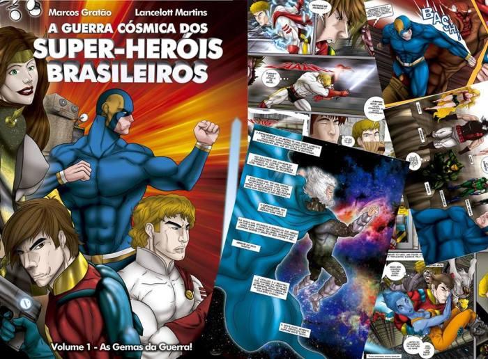 A Guerra Cósmica dos Super-Heróis Brasileiros.