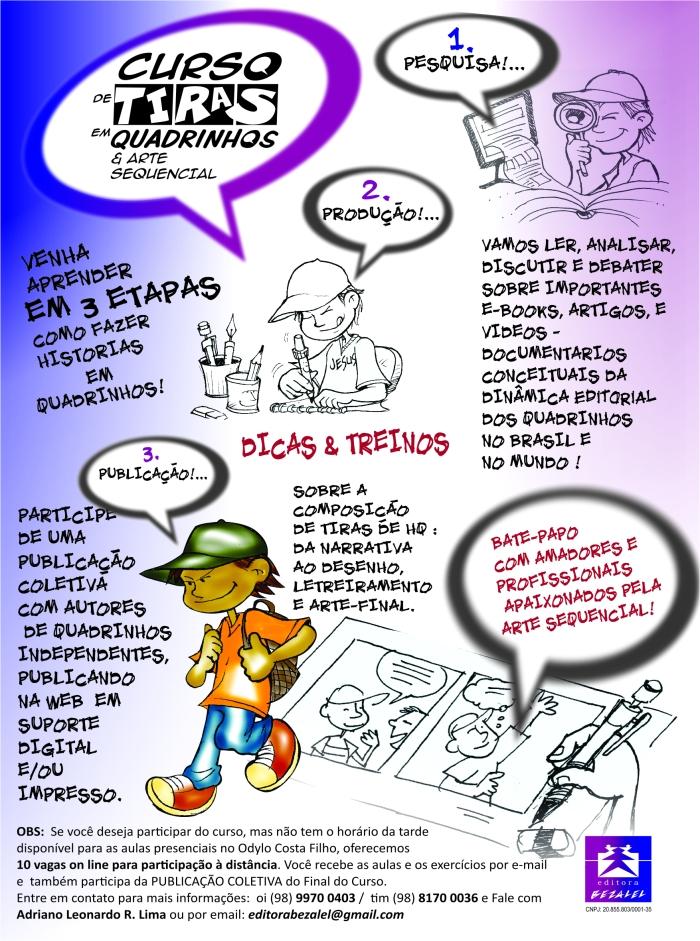 CURSO DE QUADRINHOS NO ODYLO COSTA FILHO