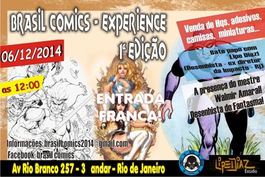 Brasil comics - Edição 01