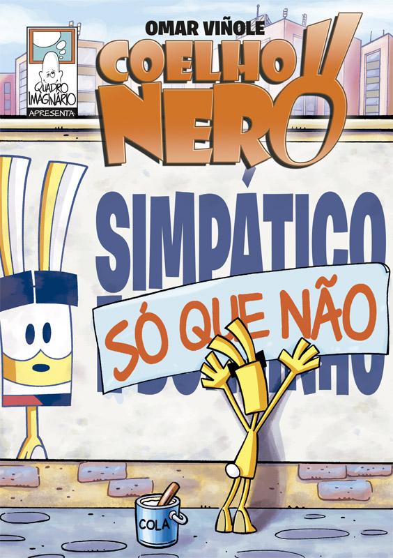 Capa Coelho Nero - Simpático só que não