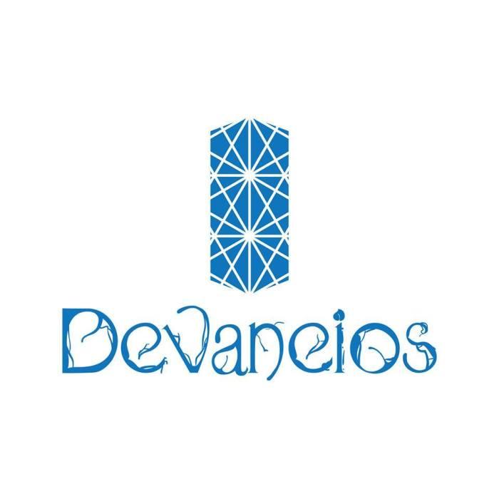 """Logo da  HQ """"Devaneios"""", criado por Felipe Cesar"""