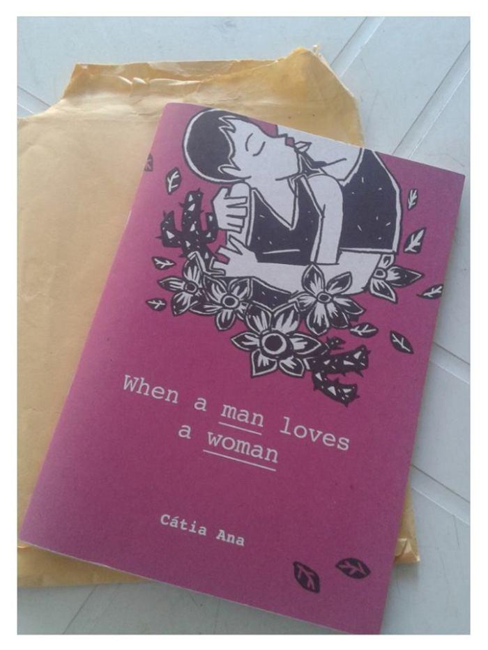 """Lançamento: """"When a man loves a woman"""", de Cátia Ana"""