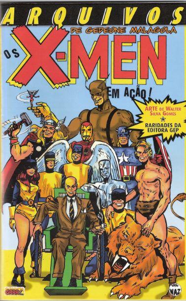 Os X-Men de Gedeone Malagola