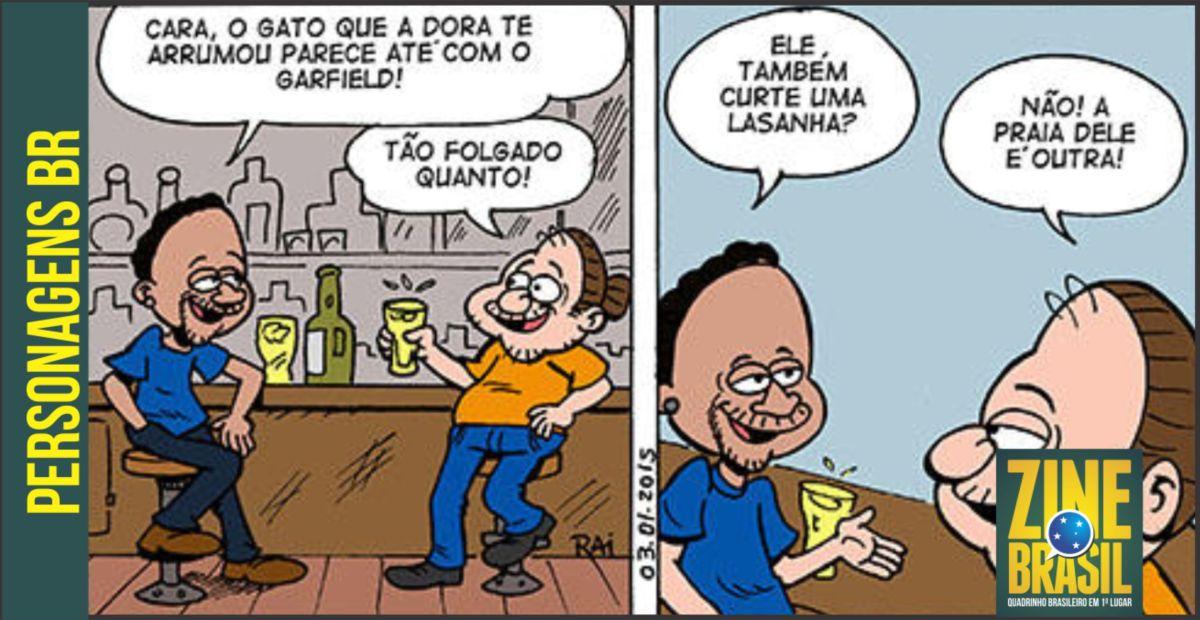 Cartunista Rai Apresenta seu novo personagem: Armando.