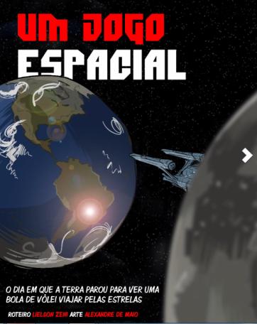 um jogo espacial-hq