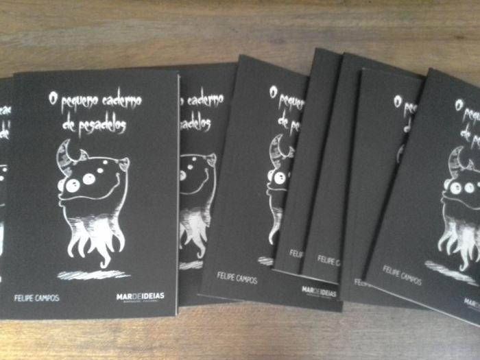 Pequeno caderno de pesadelos