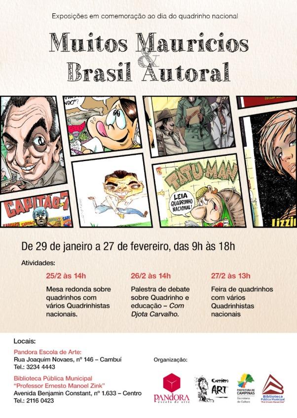 """""""Muitos Mauricios e Brasil Autoral"""""""