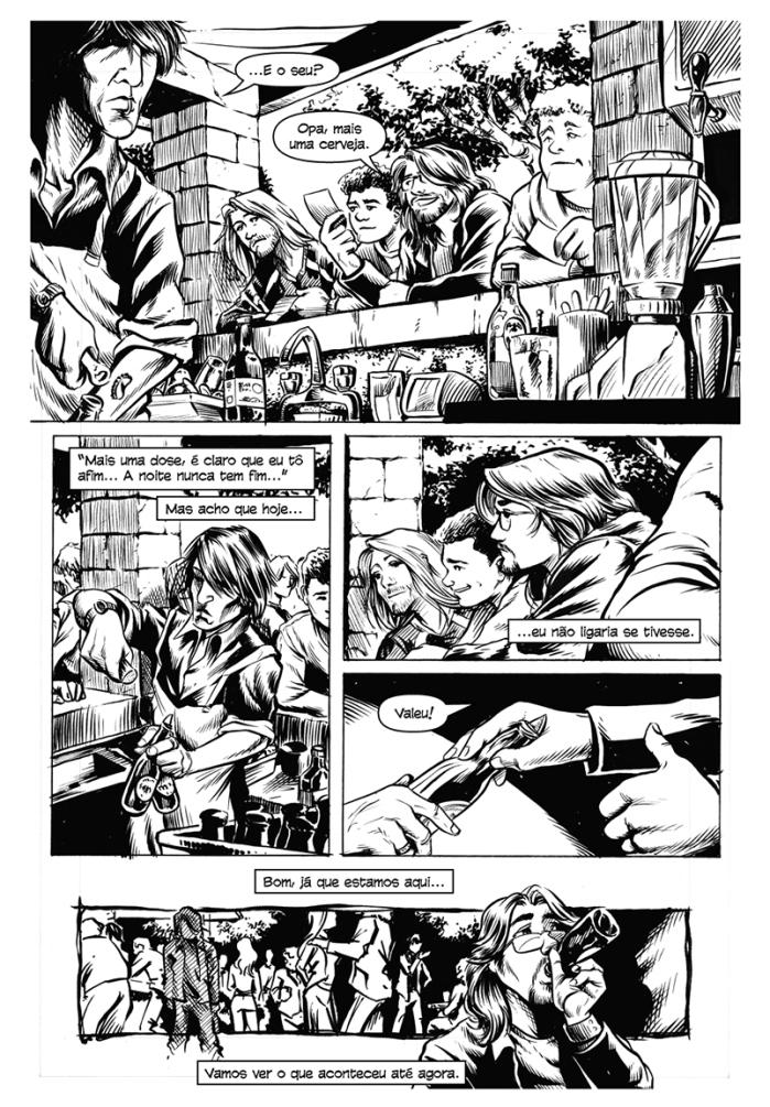 """Webcomics: Leia """"Mais uma dose"""", uma HQ de Mario Cau."""