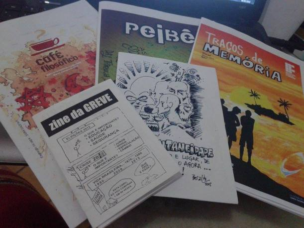 Conheça os Zines do Instituto Federal Fluminense Campus Macáe