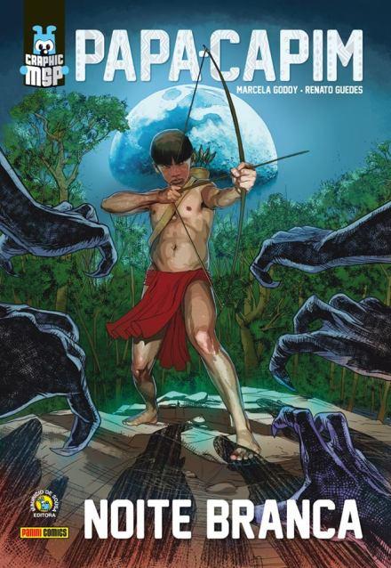 Confira os Previews da Graphic Novel MSP, Papa-Capim – Noite Branca.