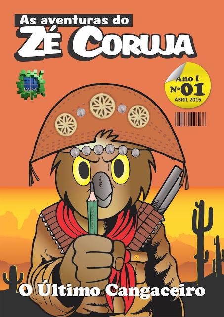 Zé Coruja, de Marcos Lopes, ganha revista Oficial