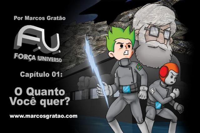 Conheça Força Universo - webserie independente nacional de animação