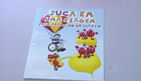 Histórias em quadrinhos ajudam crianças com mielomeningocele