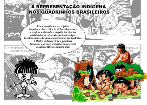 Exposição sobre representação Indígena nas HQS Nacionais acontece em Natal