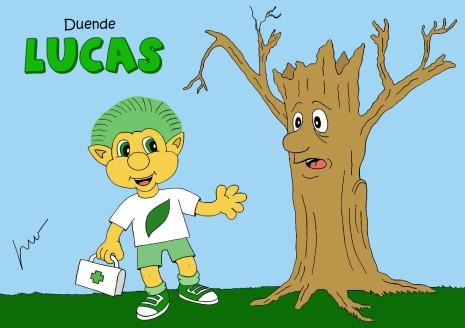 Ecologia e bom humor na rede com o Duende Lucas, criação de Léo Valença