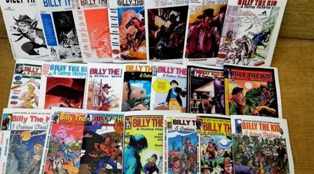 Coleção Billy The Kid & Outras Histórias