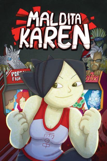 Maldita Karen - Capa