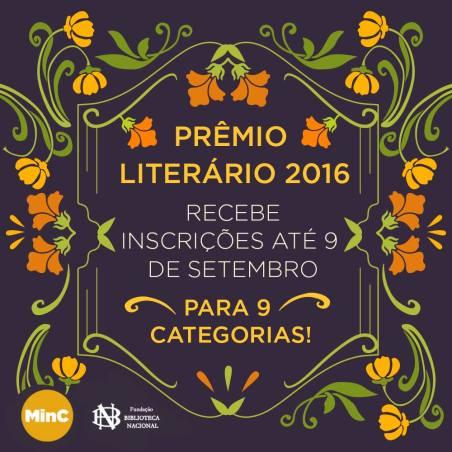 Inscrições abertas para o Prêmio Literário Biblioteca Nacional
