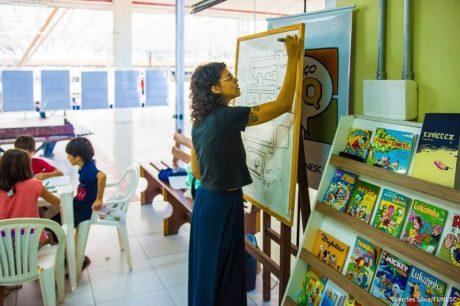 Funesc abre vagas em oficinas de quadrinhos para crianças